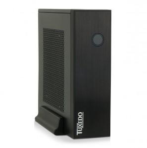 TUXEDO Micro Intel-Core-Series - Kleinst-PC - Energiespar-CPUs + bis Intel Core i7 + VESA-Halterung + bis zu 3 HDD/SSD + Blu-Ray-Brenner