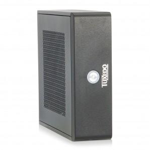 TUXEDO Micro v7 Intel-Core-Series - Kleinst-PC - Energiespar-CPUs + bis Intel Core i7 + VESA-Halterung + bis zu 3 HDD/SSD + Blu-Ray-Brenner