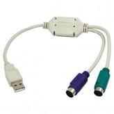 Adapter USB > PS/2 Maus & Tastatur