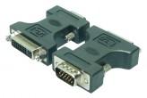 Adapter VGA to DVI-I - HD DSUB Stecker > DVI-I Buchse