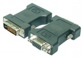 Adapter DVI to VGA - DVI Stecker > HD DSUB Buchse