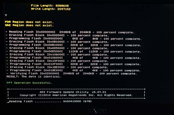 Updating EFI BIOS & EC - TUXEDO Computers