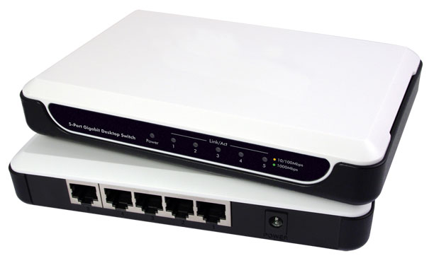 Gigabit 5-Port Netzwerk Switch