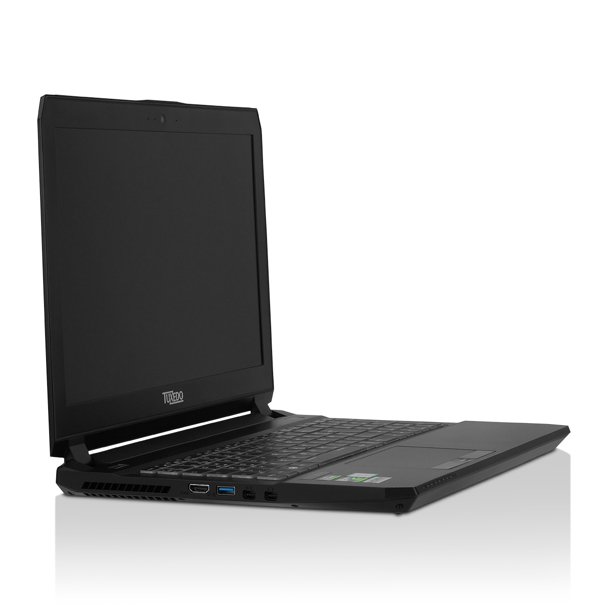 "TUXEDO Book XC1507 v2 - 15,6"" matt Full-HD & Ultra-HD IPS-Display + bis NVIDIA GeForce GTX 1070 Grafik + bis vier HDD o. SSD + Intel Core i7 Quad-Core + bis 64GB RAM"