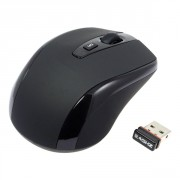 Mini USB-Mouse - Wireless - schwarz