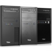 TUXEDO One v8 Intel-Core-Series + Micro-ATX + High-End-CPUs + opt. NVIDIA GeForce GTX + bis 6 HDD/SSD + bis 64 GB RAM + DVD- o. Blu-Ray-Brenner