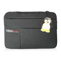 "Notebook-Tasche bis 15,6"" - Mysterious-Black - TUXEDO Sleeve-Bag 15"