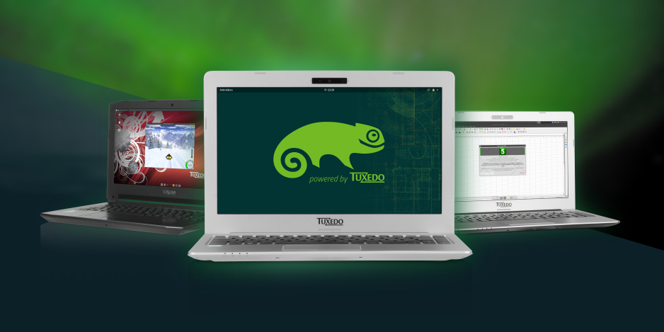 openSUSE Leap 15 on PCs and Notebooks from TUXEDO Computers